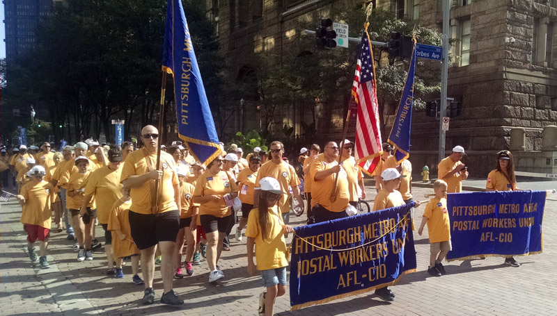 Marching Contingent Labor Day 2016